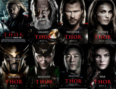 Thor Movie Poster web