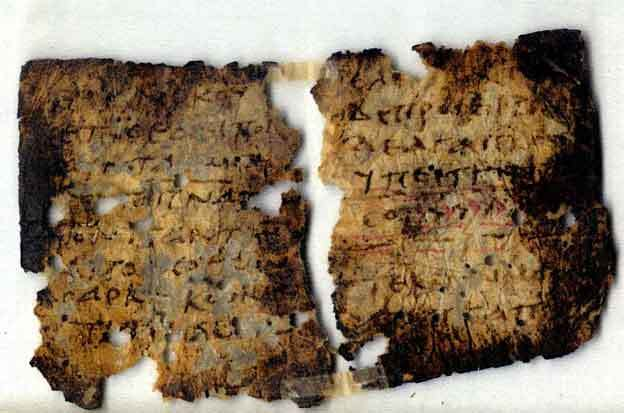 Didache Fragment